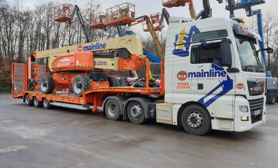 Mainline Welcomes a New Montracon Trailer