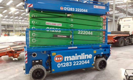 Introducing Two New Scissor Lifts to Mainline's Growing Fleet