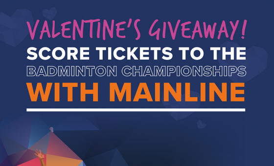 Mainline is Serving a Valentine's Giveaway!